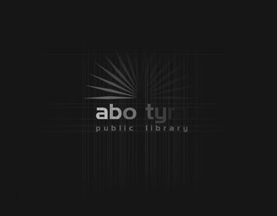 Abotyra Public library Visual identity