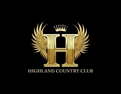 "Logo Design for "" Highland Country Club """