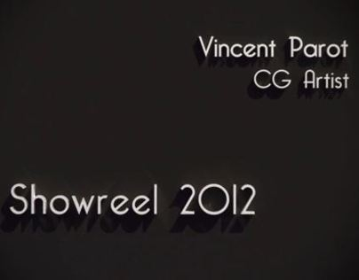 Vincent Parot - SHOWREEL 2012 -