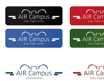 Air Campus  logo creation