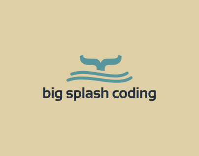 Big Splash Coding - Logo Design