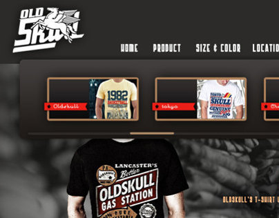 Web Design | Product catalog