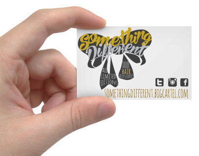 Something Different Business Card