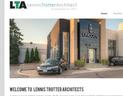 Lennis Trotter Architect - Web Design