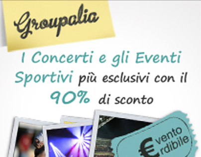 Web, Newsletter & Blog Banners - Groupalia.com