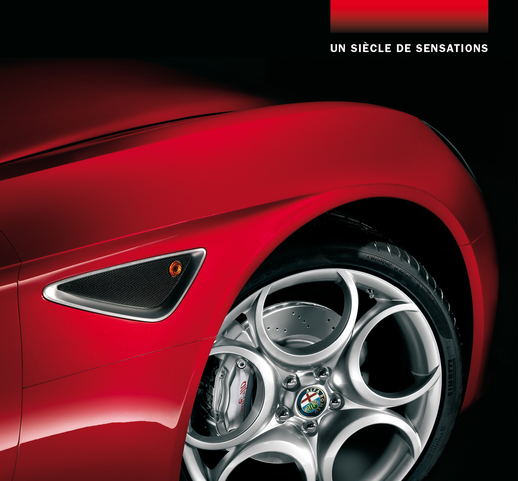 Alfa Romeo - the centenary's brochure