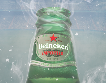 Heineken UEFA Chamipons League Poster