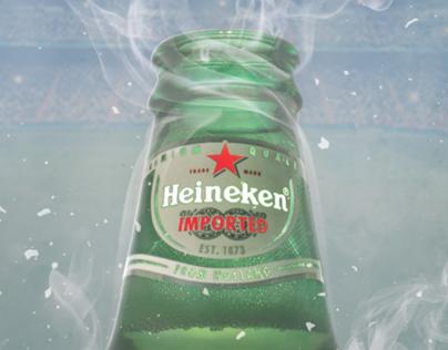 Heineken UEFA Chamipons League Poster