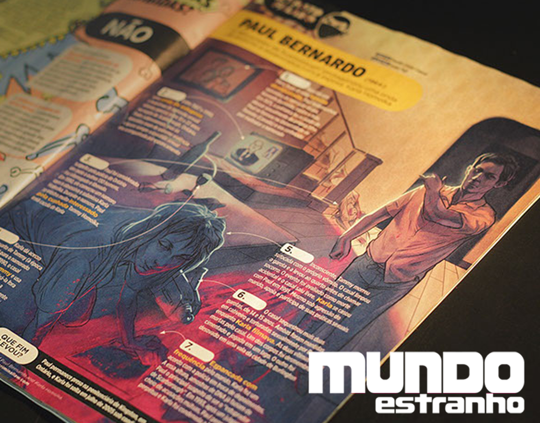 Mundo Estranho #137 - Paul Bernardo