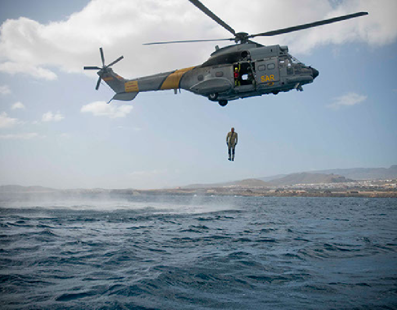 S.A.R. Search And Rescue in Gran Canaria.