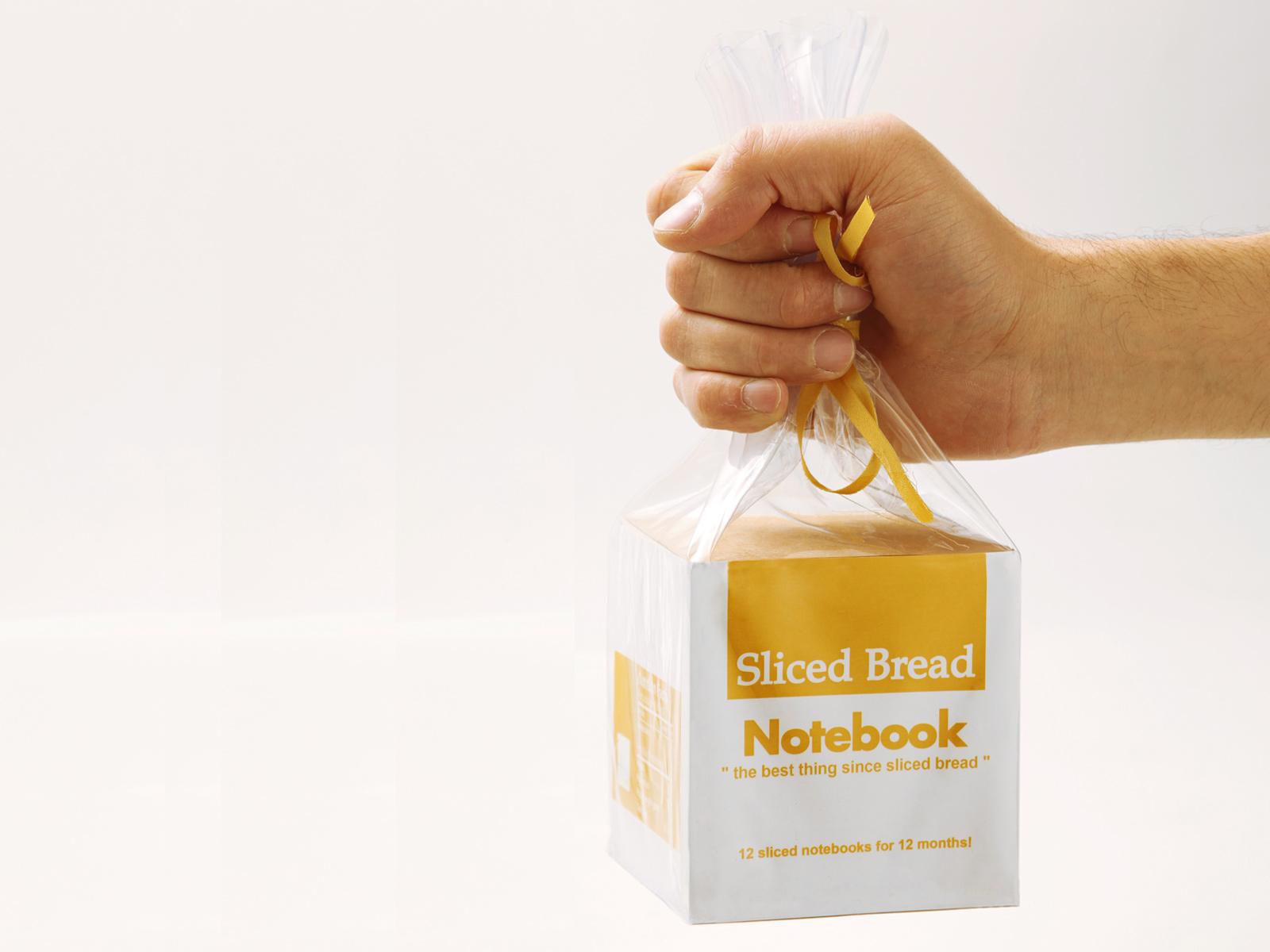 Sliced Bread//Notebook