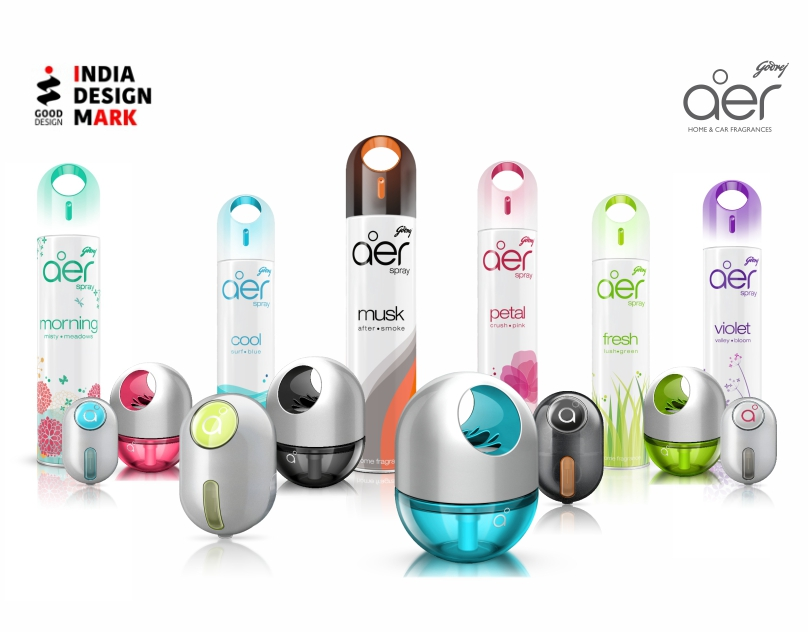 aer_home and car fragrances for Godrej, India
