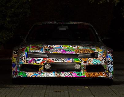 NISSAN SILVA 200SX DRIFT CAR GRAPHICS