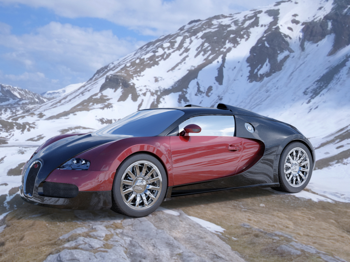 Bugatti Veyron Car Design/Model