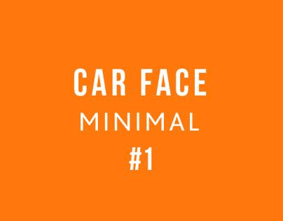 Car face minimal