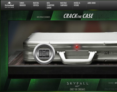 Heineken México | 007 Skyfall | Crack the Case