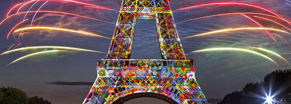 Eiffel Tower 120th anniversary