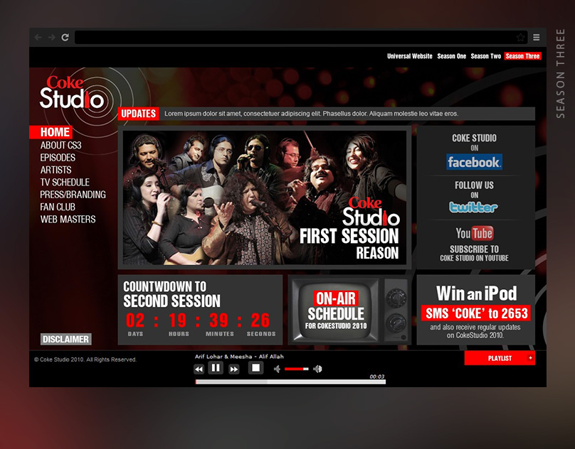 Coke Studio - Season Three