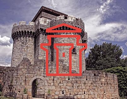 Villa de Granadilla, pictogramas y señalética