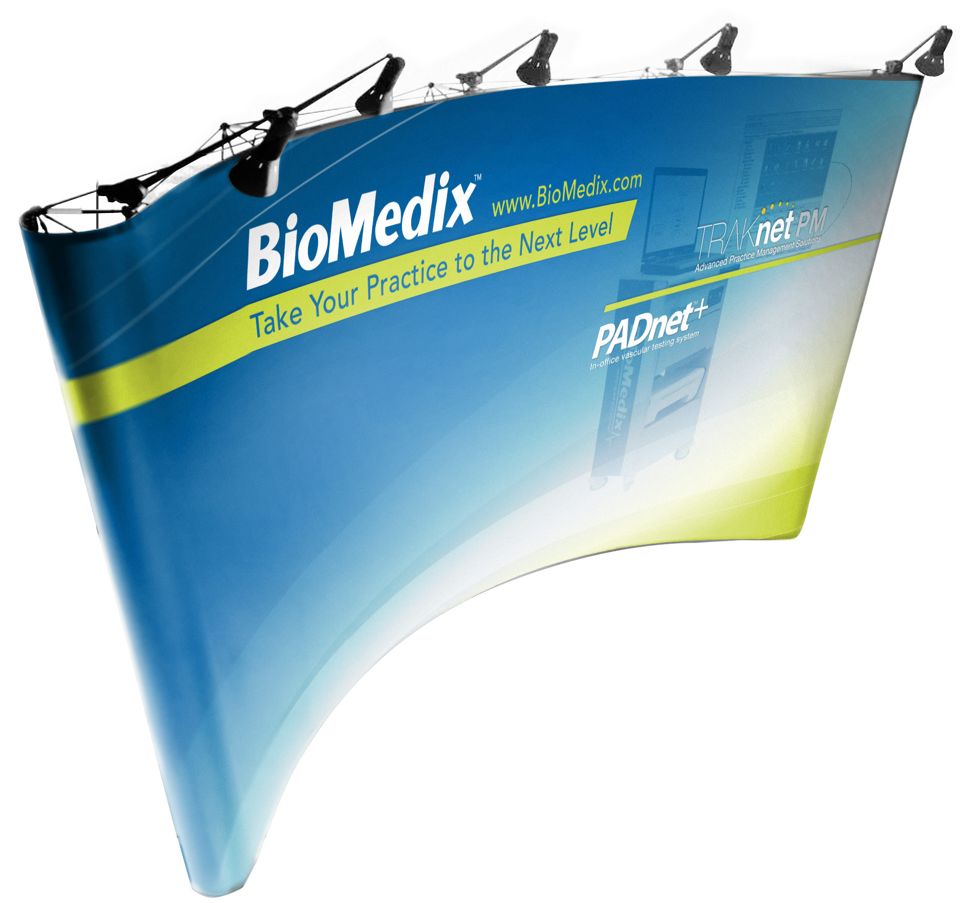 Large Display: BioMedix Collaborative Solutions