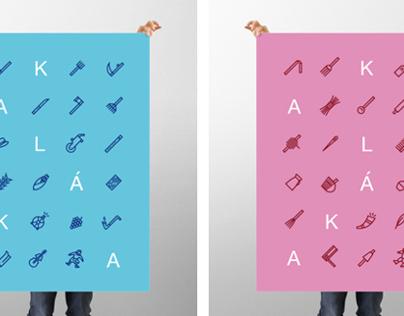 Kaláka / Bee poster