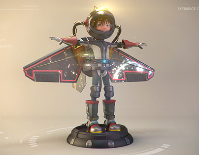 Angela Moonwalker (Turntable)