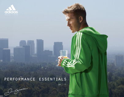 ADIDAS ESSENTIALS FW10 - DAVID BECKHAM