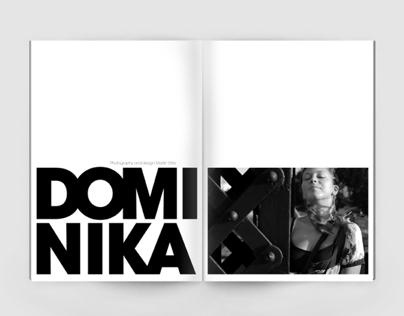 Dominika - model photo book