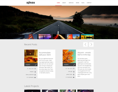 Sonda - Creative portfolio