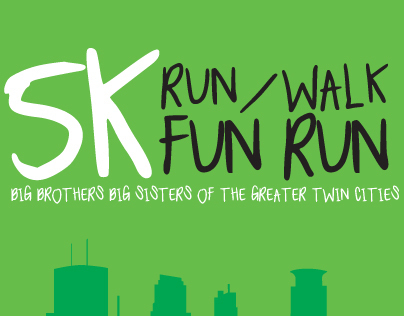 Big Brothers Big Sisters 5K Run Logo