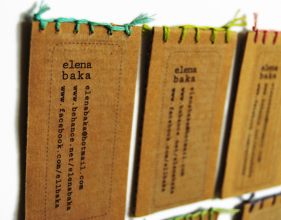 handmade notebooks vol.2 + business cards