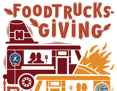 Foodtrucksgiving Poster