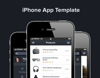Interesante. iPhone App design