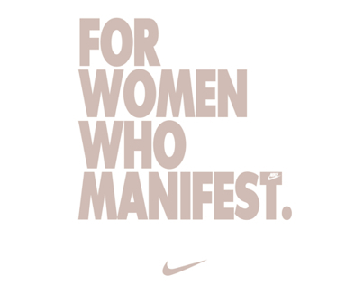 Nike: For Women Who Manifest
