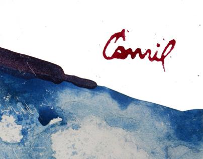 Catalog for the exhibition-Ćamil Osmanović.