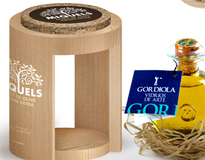 limited edition gift box for organic olive oil
