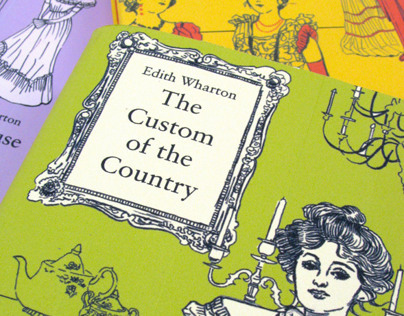 Edith Wharton Book Series