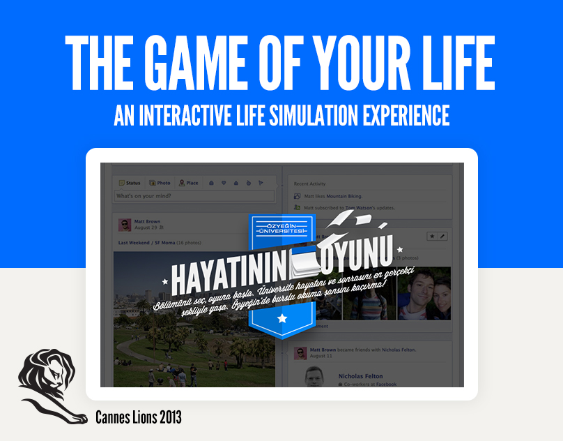 The Game of Your Life (Cannes Lions 2013)