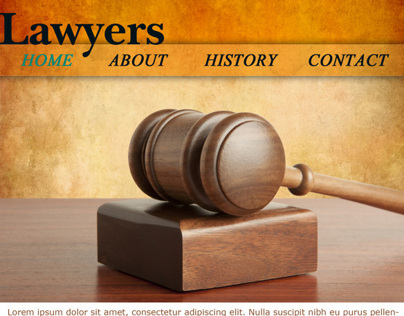 Lawyers website design for mobile devices