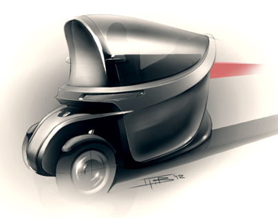Strategic design proposal for the iconic Iso Isetta