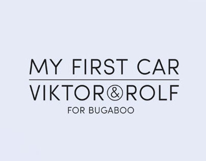 Viktor & Rolf for Bugaboo
