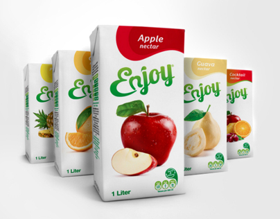 Enjoy Rebranding & Juice Packaging