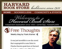 Harvard Book Store Website Direction