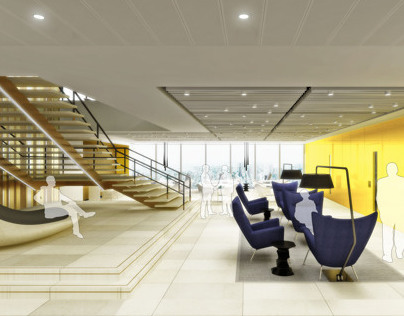 Workspace Interiors for global Insurance group