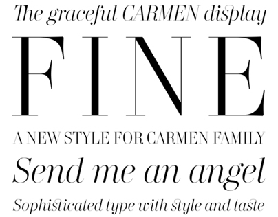 Carmen Fine Display