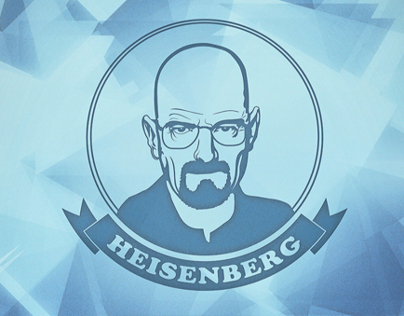 Walter White - Heisenberg - Blue Meth Edition