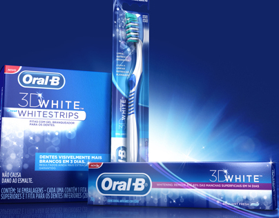 Oral B - 3D White Strips