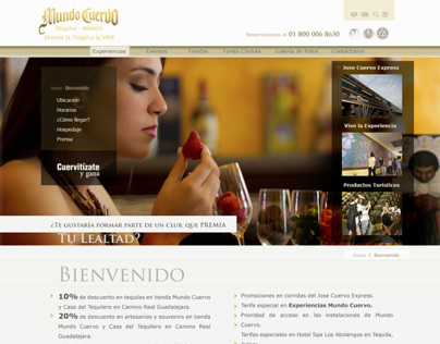 Mundo Cuervo - Website en XPC.MX