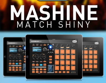 Mashine Match Shiny - Tablet App Design