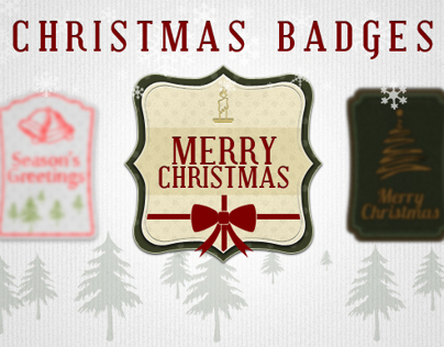 Christmas Badges/Cards